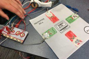kids doing electronics